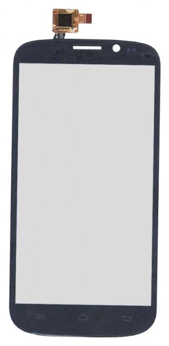 Сенсорное стекло (тачскрин) для DNS S5002 (черный)