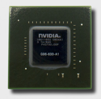 Видеочип nVidia GeForce 9600M GT, G96-630-A1