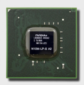 Видеочип nVidia GeForce G105M, N10M-LP2-S-A2