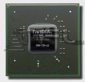 Видеочип nVidia GeForce 9300M GS, G98-730-U2