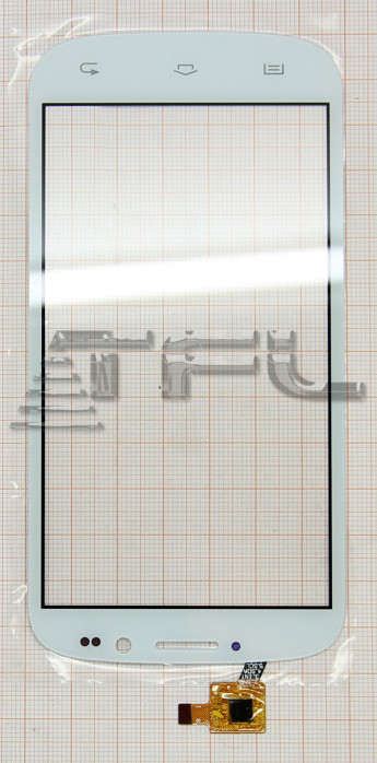 Тачскрин для DNS S5002 (белый)
