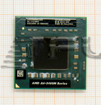 (Socket FS1) Процессор AMD® A6-3400M, 4x1.4GHz(2.3GHz), AM3400DDX43GX (разбор, без дефектов)