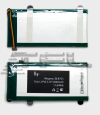 Батарея BL8103 для FLY Flylife Connect 7 3G 2, 3.7V, 3200mAhm, 5pin