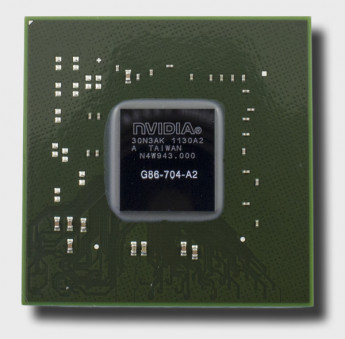 Видеочип nVidia GeForce 8400M GS, G86-704-A2